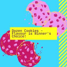 One Dozen Cookies by Nadia Pisaturo
