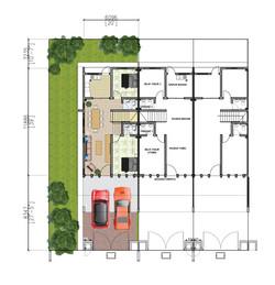 1.5 Storey Tarrace - Ground Floor