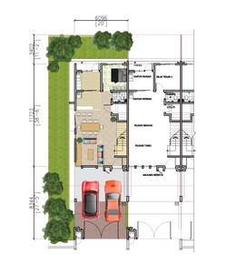 2 Storey Terrace - Ground Floor