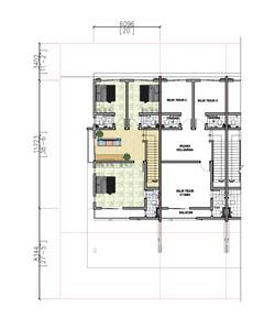2 Storey Terrace - First Floor