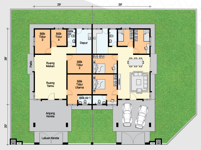 SSSD floor plan