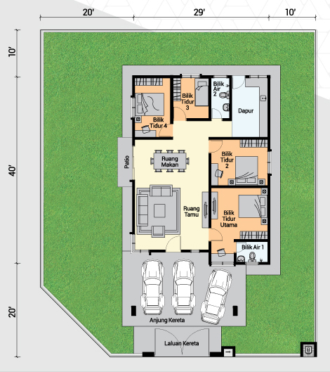 SSB floor plan