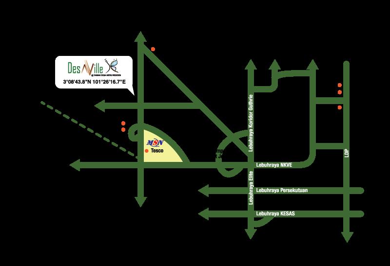 DSV-map