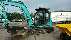 8 Tonne Doosan Excavator For Hire