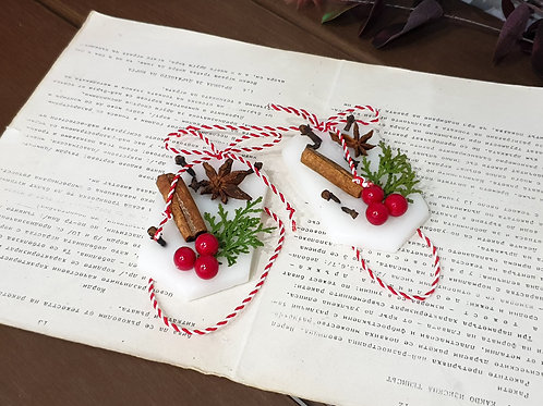 """Ароматни восъчни плочки """"Коледна мечта"""""""