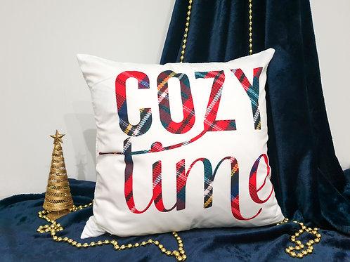 """Декоративна възглавница """"Cozy time"""""""