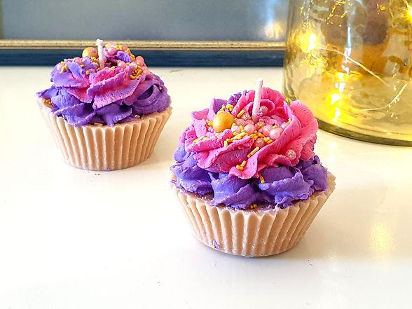 """Ароматна свещ """"Blueberry cream"""""""