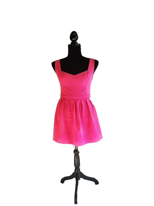Color Me Pink Fitted Dressed
