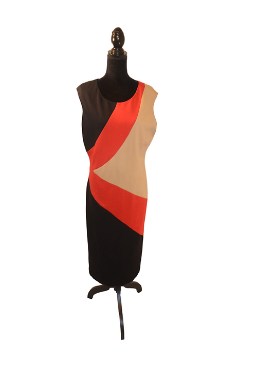 Curvy Girl Multi-Color Dress