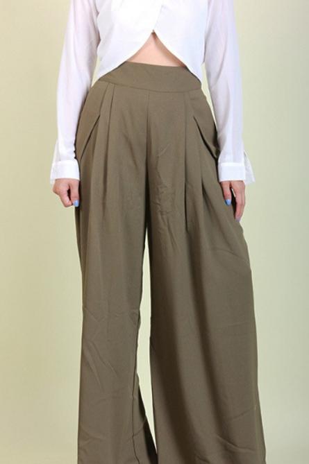 High Waist Olive Pants