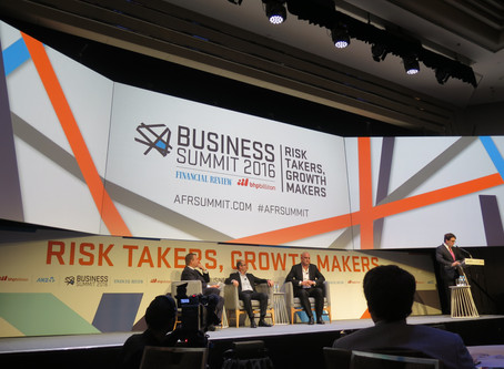 The AFR Business Summit makes its mark