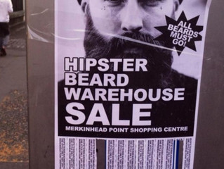Hipster Beard Warehouse Sale