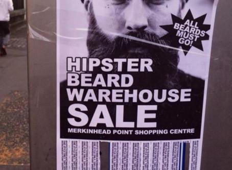 Hipster Beard Warehouse Sale