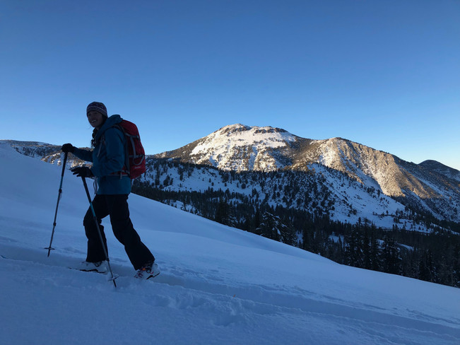 Snow Conditions at Mt. Rose Summit.