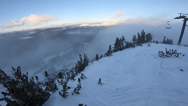 And its on!! (Mammoth season opener/conditions)