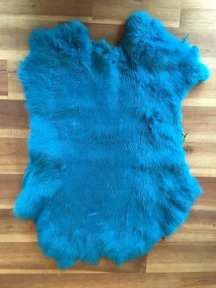 10 x Turquoise Fur Pelt