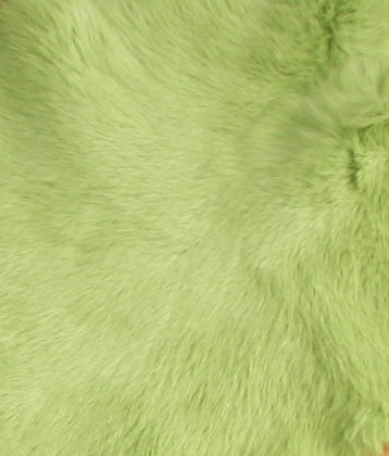 1x Lime Green Fur Pelt