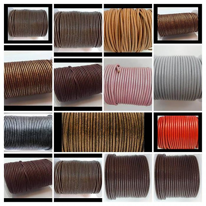 Round Leather Cord 1,5mm