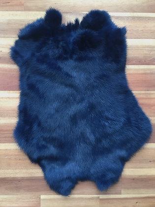 5 x Navy Blue Fur Pelt