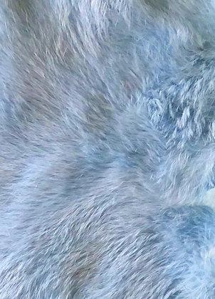 5x Baby Blue Fur Pelts