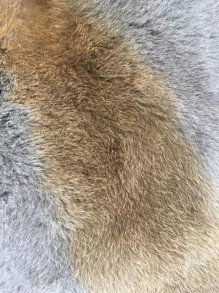 5 x Highland Brown Fur Pelts