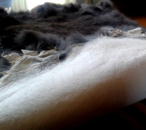 10x Dark Chocolate Fur Pelts