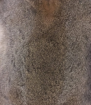 5 x Highland Grey Fur Pelts
