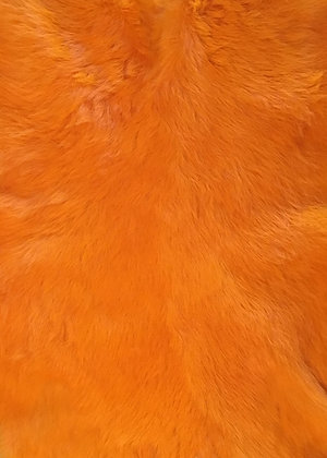 1x Orange Fur Pelt