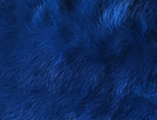 10x Royal Blue Fur Pelts