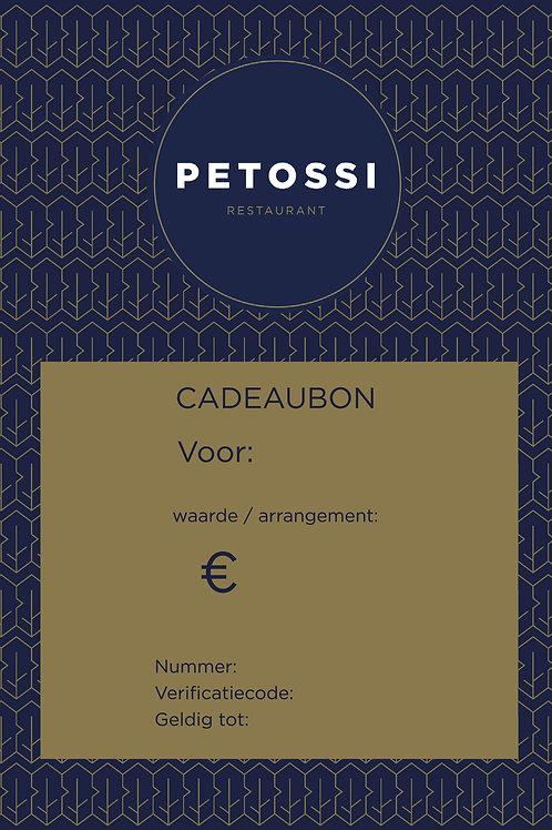 PETOSSI DINERBON 150,-