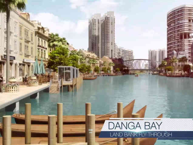 Iskandar Waterfront Holding with Landbank
