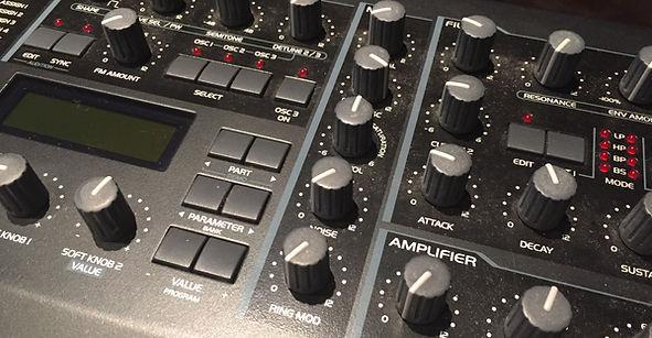 Orlando Recording Studio-Sound Synthesis