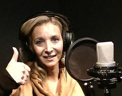 Lisa Kudrow at Anything Audible-Orlando Recording Studio