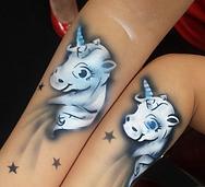 Airbrush unicorn