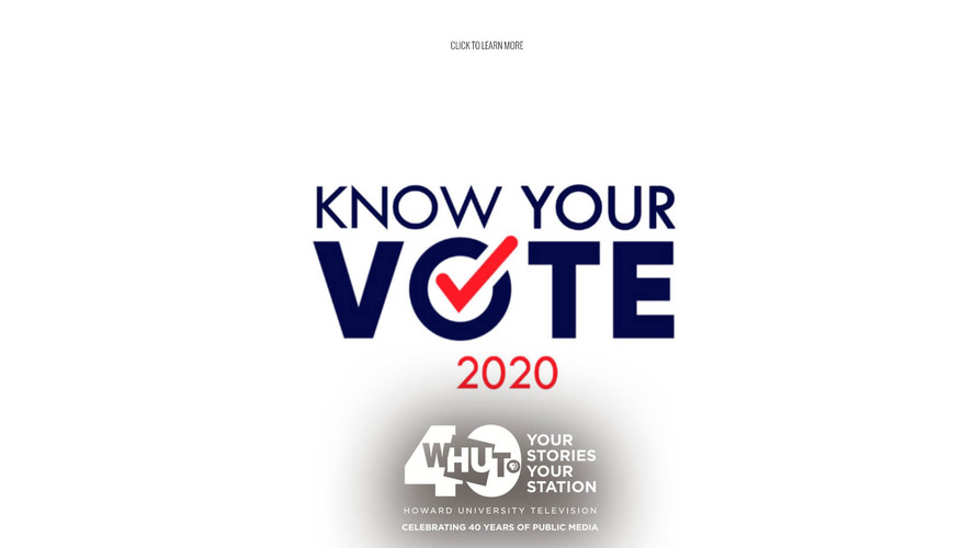 Know Your Vote - Elections 2020