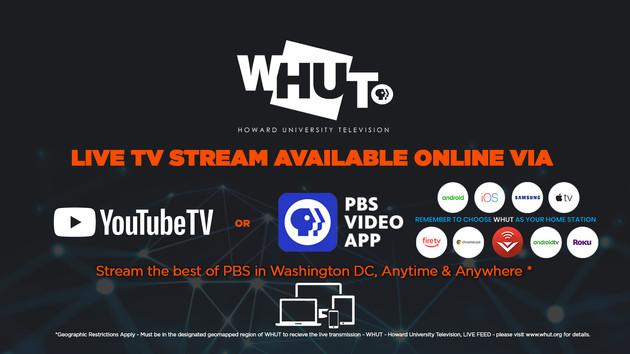 WHUT livestream ad