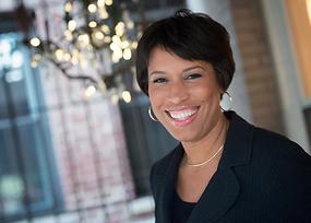 Washington DC's Mayor - The honarable  Muriel Bowser Smiling