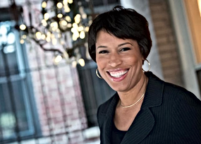 Washington DC's Mayor - The honarable  Muriel Bowser Smiling