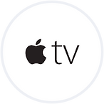 AppleTV logo black and White - Click to get PBS Video Assistance for your AppleTV