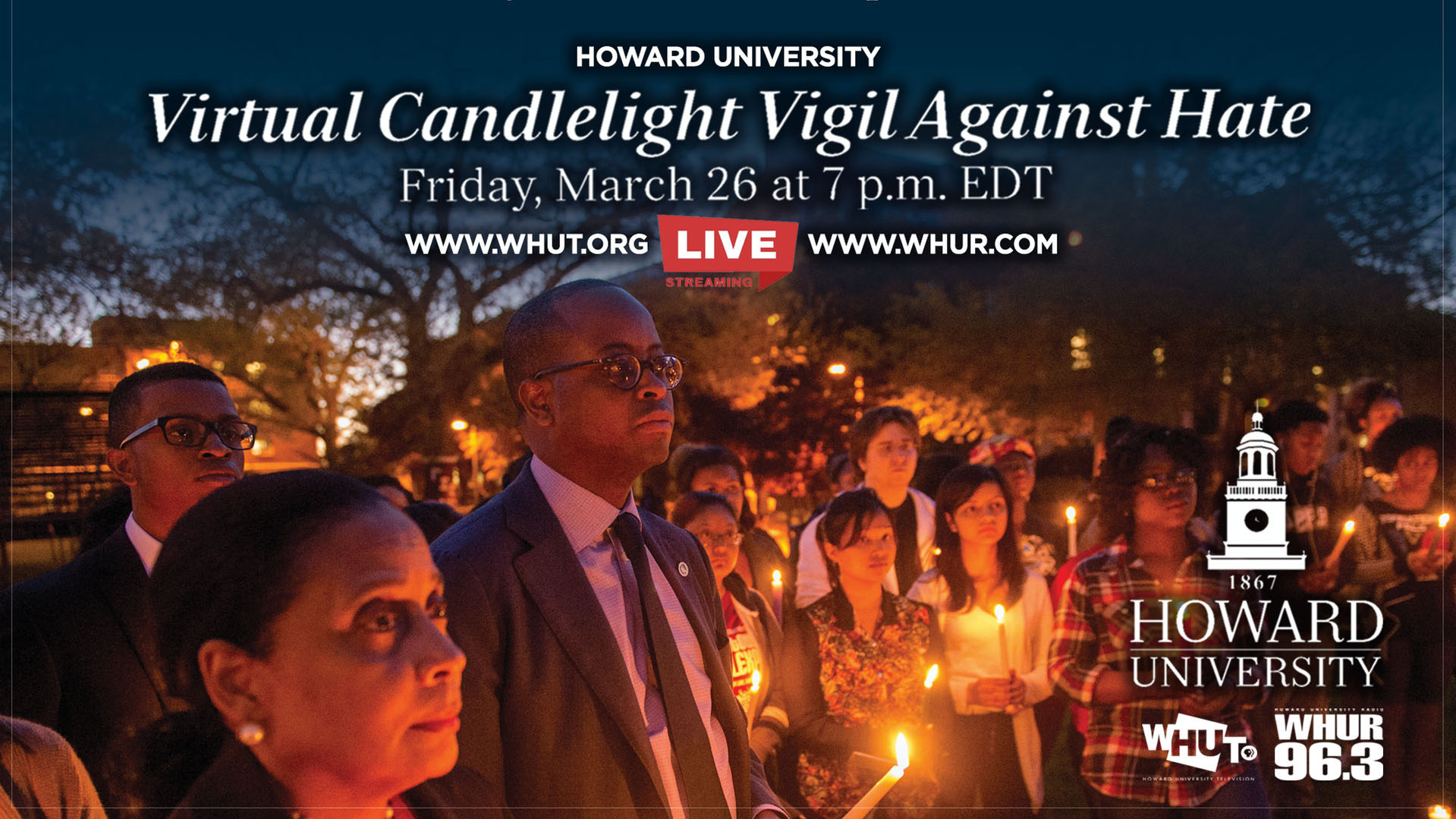 Virtual Candlelight Vigil Against Hate