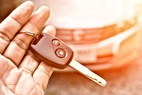 Keys in hand - Links to WHUT vehicle donations page
