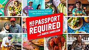 No passport required logo colorful, Click to view on PBS Video App