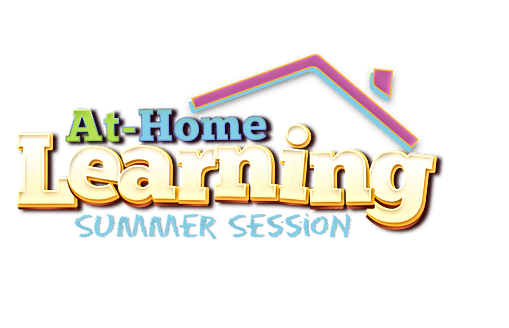 At home learning Summer Session Logo PNG