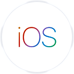 Apple iOS logo - click to learn more