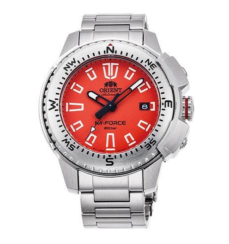 Orient M-Force Orange RA-AC0N02Y10B Automatic Watch