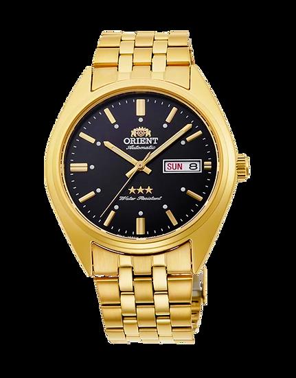 Orient Deneb Tri-Star Gold Automatic Men's Watch RA-AB0E11B19B