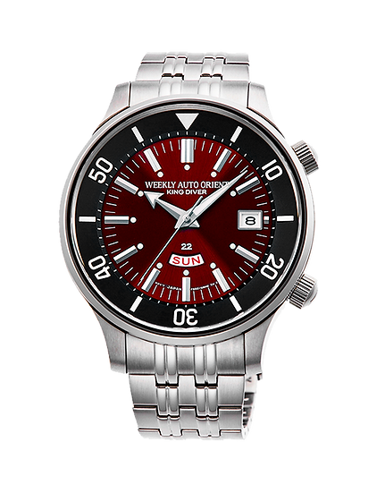 Orient Weekly Auto King Diver Red Dial RA-AA0D02R1HB Automatic