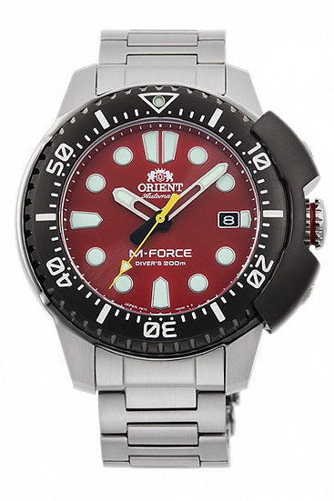 Orient M-Force Red RA-AC0L02R00B Automatic Watch