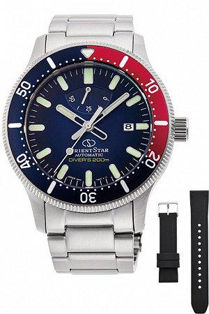 Orient Star Sports Diver 200m Pepsi Blue RE-AU0306L00B