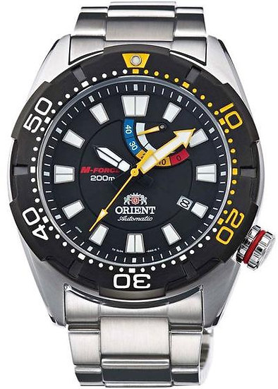 Orient M-Force Bravo Black SEL0A001B0 Automatic Watch